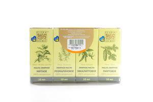 Набор эфирных масел для сауны Flora Secret 4х10мл
