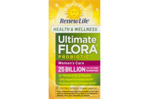 RenewLife Ultimate Flora Probiotic Women's Care - 30 CT