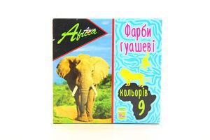 Краски Economix Africa гуаш 9цв*10мл арт.60118