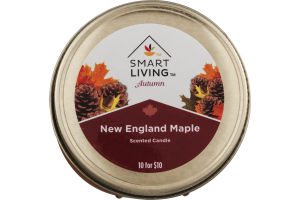 Smart Living Autumn Scented Candle New England Maple