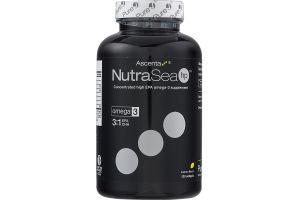NutraSea HP EPA Omega-3 Supplement Softgels Lemon Flavor - 120 CT