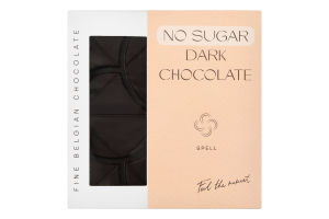 Шоколад темний без цукру Spell к/у 70г