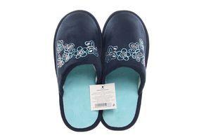 Тапочки комнатные женские SKY №124036 36-37 темно-синие