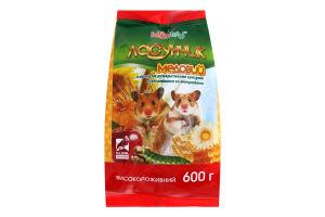 Корм для грызунов Медовый Ласунчик Hobby Meal м/у 600г