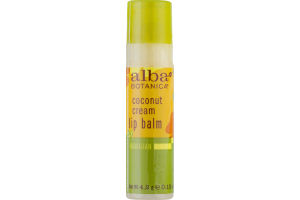 Alba Botanica Coconut Cream Lip Balm Hawaiian