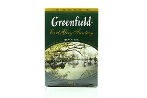 Чай черный листовой с ароматом бергамота Earl Grey Fantasy Greenfield к/у 200г