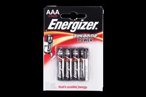 Батарейки AAA LR03 Energizer 4шт