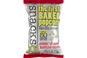 Snacks101 The First Baked Popcorn Sweet & Salty Kettle Corn