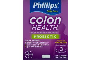 Phillips' Colon Health Probiotic Capsules - 30 CT
