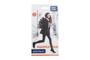 Колготи дитячі Boy&Girl Manhattan 50den 140-146 brown