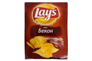 Чіпси Lays Бекон 71г х20
