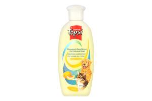 Шампунь-кондиціонер для котів та собак Topsi 200мл