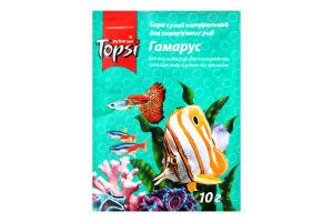Корм для рыб сухой Гамарус Topsi м/у 10г