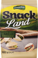 Фісташки смажені солоні Snack Land м/у 250г