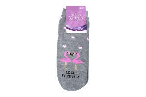 Шкарпетки жіночі Легка хода №5373 25 срібло меланж