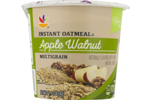 Ahold Instant Oatmeal Apple Walnut
