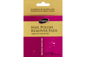 CareOne Nail Polish Remover Pads - 6 CT