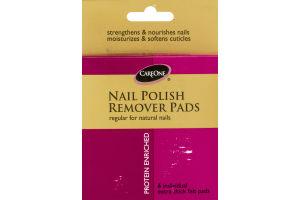 CareOne Nail Polish Remover Pads - 6 CT