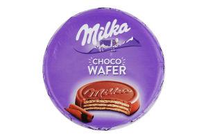 Вафлі з начинкою з какао вкриті молочним шоколадом Milka м/у 30г