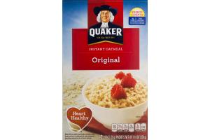 Quaker Instant Oatmeal Original - 12 CT