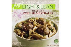 Amy's Light & Lean Meatless Swedish Meatballs