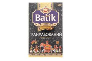 Чай черный листовой в гранулах Экстра Batik к/у 100г