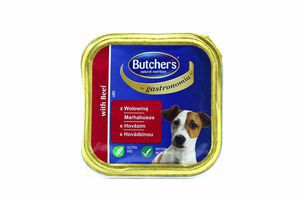 Корм Butcher's для собак паштет з яловичиною 150г
