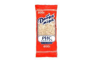 Рис довгий особливий Добра міра м/у 400г