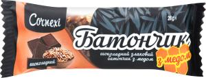 Батончик злаковый шоколадный с медом Cornexi м/у 28г