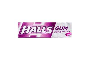 Резинка жевательная без сахара со вкусом ментола и черной смородины Halls м/у 14г