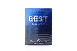 Туалетная вода мужская Best Free Lander Christine Lavoisier 90мл
