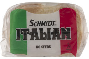 Schmidt Italian Enriched Bread No Seeds