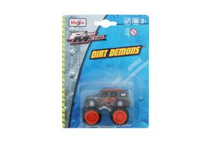 Автомоделі інерц 7,5cм Dirt Demons в асорт 12 видів блістер Maisto 15030