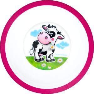 Тарелка пластиковая для детей от 4меc №4/416 Canpol Babies 1шт