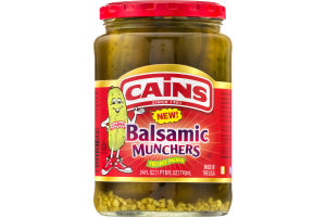 Cains Balsamic Munchers Pickles