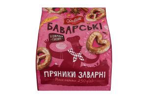 Пряники заварные в сахарной глазури Баварские Delicia м/у 250г