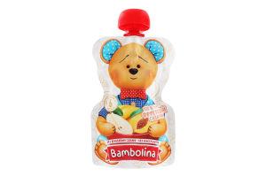 Пюре для дітей від 6міс Фруктовий салатик Bambolina д/п 90г