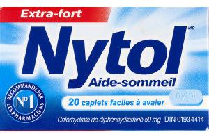 (CN) Nytol Sleep Aid Caplets- 20 CT, Nytol Aide-Sommeil Caplets - 20 CT
