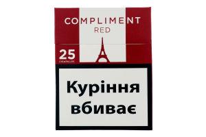 Сигариллы с фильтром Compliment Red 25шт