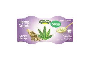 Десерт растительный органический из семян конопли NaturGreen к/у 2х125г