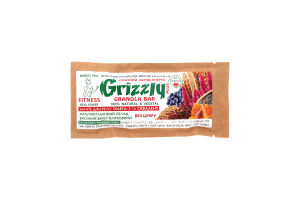 Батончик Grizzly Plus Dr.Granola м/у 30г