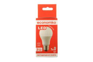 Лампа світлодіодна Economka LED A60 7W E27 2800K 1шт