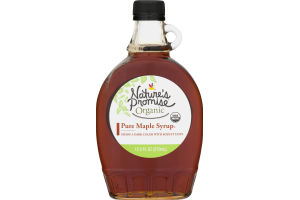 Nature's Promise Organic Pure Maple Syrup