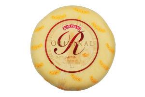 Сыр 45% полутвердый Original Rokiskio кг