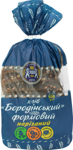 Хліб нарізаний Бородінський Кулиничі м/у 500г