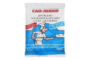 Дрожжи хлебопекарные сухие Саф-Левюр м/у 100г