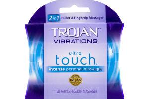 Trojan Vibrations Ultra Touch Vibrating Fingertip Massager
