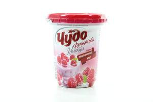 Десерт творожный Чудо малиновый мусс 3,6% стак 340г