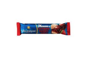 Шоколад молочний Mousse&Strawberry jam Millennium м/у 33г