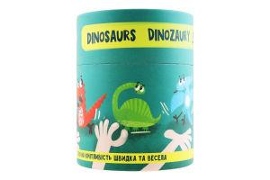 Игра настольная для детей от 3лет №300207 Динозавры Dodo 1шт